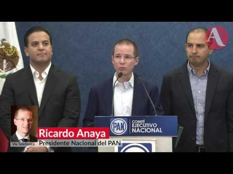 """""""Que caiga quien tenga que caer"""" por espionaje en México: Ricardo Anaya"""