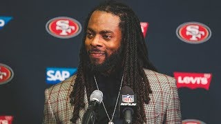 Richard Sherman Reviews his First Regular Season Game as a Member of the 49ers
