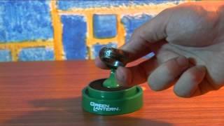 Обзор на кольцо Зеленого фонаря. Green Lantern Die Cast Movie power ring. Noble Collection