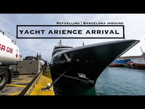 Preparing For Summer | Refuelling Yacht Arience