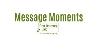 """Message Moment - """"The Foundation of Every Embrace"""""""