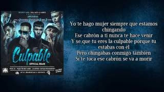 Culpable Remix (Letra) - Mike Duran [Feat Anuel AA, Noriel, Darkiel, Bryant Myers, Kevin Roldan]