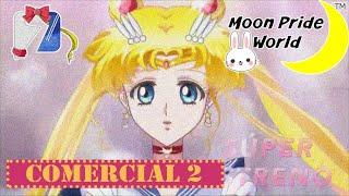 Sailor Moon Crystal - Azteca 7 Comercial 2 Español Latino