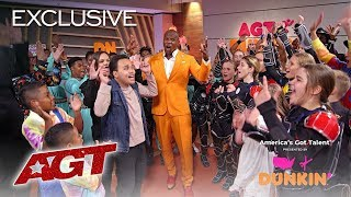 Dunkin' Lounge: Semifinals 1 - America's Got Talent 2019