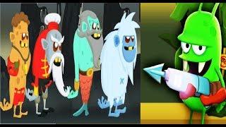 Мульт Игра ОХОТА НА ЗОМБИ #156 Видео для детей про охотников на зомби Zombie Catchers