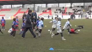 Ecole de rugby : Racing Métro vs Dijon (Finale U7) - Tournoi Louis de Brailly