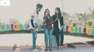 Pushing Ball prank With girls||Bharti prank||Raju Bharti