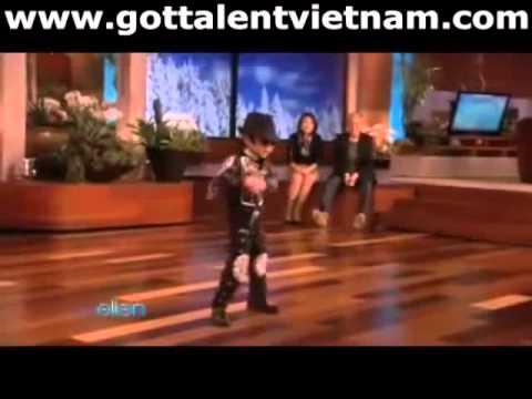 """Michael Jackson"" nhí thi America"