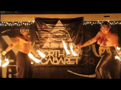Deaja Girlonfire & ChaCha Burnadette in Northbay Cabaret's Shocktober 2