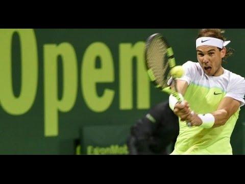 Pablo Carreño Busta vs Rafael Nadal  FULL MATCH DOHA 2016 PART 1