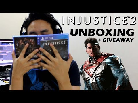 INJUSTICE 2 (PS4) Pre-Order Edition Unboxing - Hindi Gaming!? + GIVEAWAY