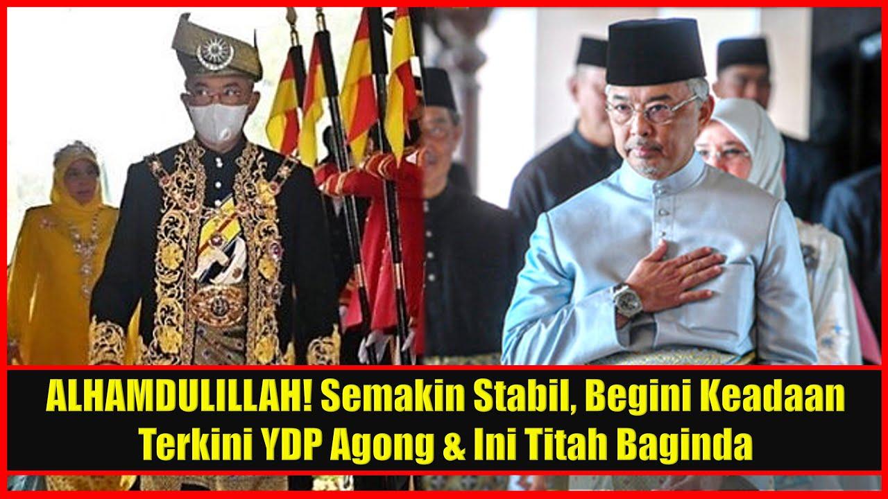 ALHAMDULILLAH! Semakin Stabil, Ini Titah YDP Agong Buat Seluruh Rakyat Malaysia Yg Mendoakan Baginda