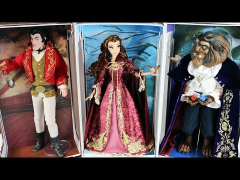 Disney Limited Edition Designer Dolls Belle, The Beast and Gaston Review