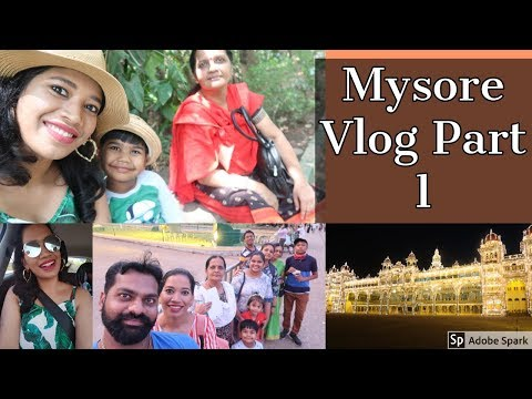 Mysuru Vlog Part: 1 I Mysore Palace I Ranganathittu Bird Santuary I Tippu Sultan Summer Palace