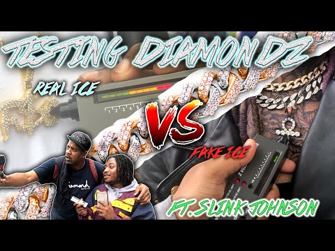 TESTING STRANGERS DIAMONDS😭💎 FT. SLINK JOHNSON (EXPOSED EDITION) | PUBLIC INTERVIEW