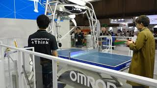 Omron's FORPHEUS at CEATEC 2017 [RAW VIDEO]