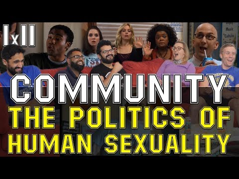 Community - 1x11 The Politics of Human Sexuality - Group Reaction