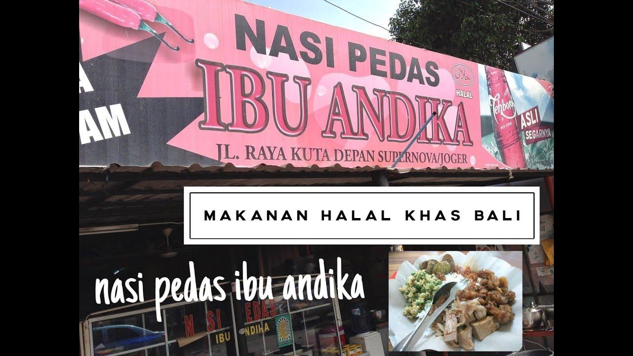 Kuliner Khas Bali Nasi Pedas Ibu Andika Youtube