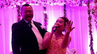 Hiroshi and Martha wedding...Reception Day.....