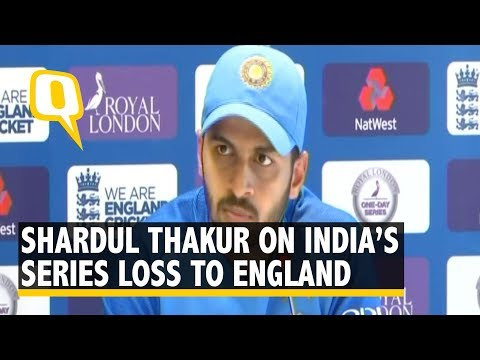 Shardul Thakur on India's Loss to England