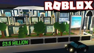 'PREMIUM ESCAPE' HOTEL HAS MANY SECRETS!!! $3.5 MILLION | Subscriber Tours (Roblox Bloxburg)