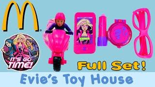 2016 McDonalds Happy Meal Barbie Spy Squad Complete Set | Evies Toy House