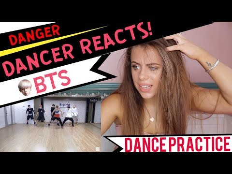 방탄소년단 'Danger' Dance Practice - DANCER REACTS!