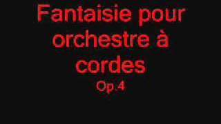 Fantaisie pour orchestre à corde
