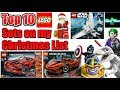 Top 10 LEGO Sets on my 2017 Christmas List! (LEGO 2018 Star Wars, Technic, and More!)