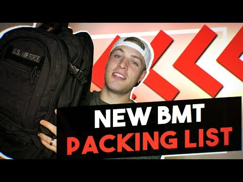NEW BMT Packing List | The Backpack Initiative