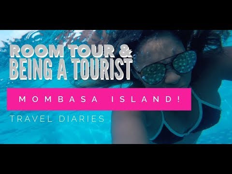 Mombasa Island - Room Tour and Being a Tourist! // Vlog 16