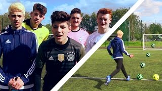 One of Ben Morris's most viewed videos: THE ULTIMATE YOUTUBER CROSSBAR CHALLENGE!!!
