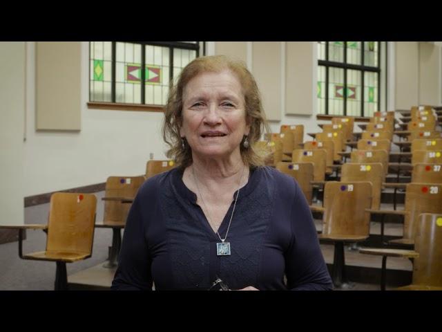 Dr. Marcetta Darensbourg Congratulates Dr. Karen Wooley, 2021 SEC Professor of the Year