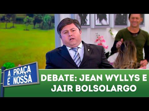 Jair Bolsolargo e Jeans Wyllys debatem | A Praça É Nossa (22/03/18)