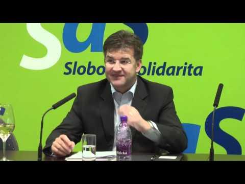 Miroslav Lajčák na pôde SaS