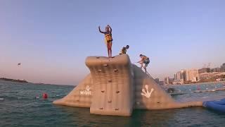AQUAFUN | ABU DHABI GETS ITS FIRST INFLATABLE PARK