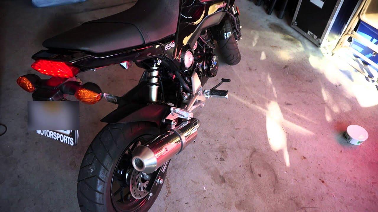 Honda Grom K-Factory full exhaust