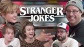 STRANGER JOKES ft. Charlie Heaton, Natalia Dyer & Joe Keery