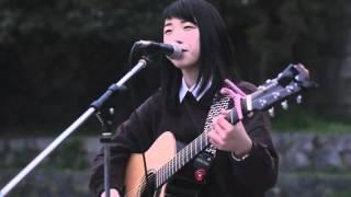 2016/03/13 16時~ Mae.×坂口有望ストリートライブ 鴨川 三条河原 Mae. ...