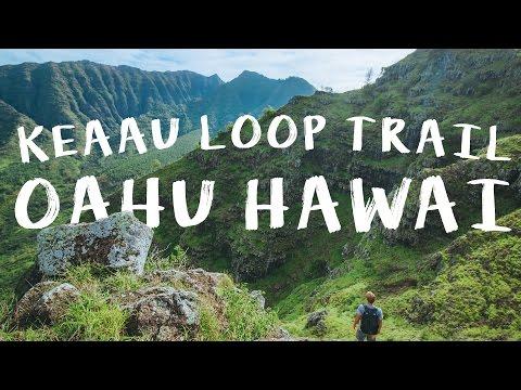 KEAAU LOOP TRAIL OAHU HAWAII | WESTSIDE | DRONE | VLOG 79