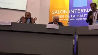 Xavier Comtesse - Table ronde EPHJ 2015