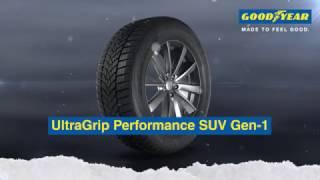 Goodyear UltraGrip Performance SUV Gen 1 Design for SUVs