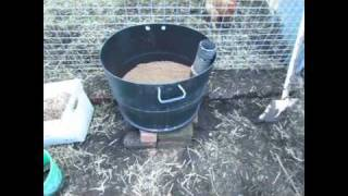 Wicking Barrel... Self Watering Container How To..
