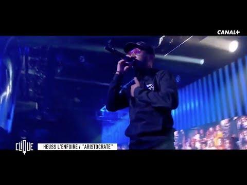 Youtube: Heuss L'enfoiré en live avec«Aristocrate» dans #Clique