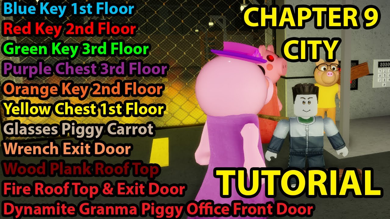 Roblox Piggy How To Escape Chapter 9 City Easy And Fast Tutorial
