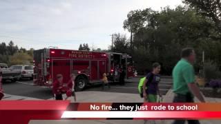 Fire Truck To Abiqua