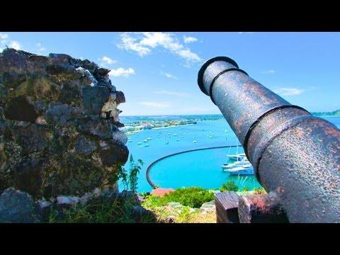 Fort Louis - St Martin, SXM, Caribbean