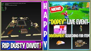 *NEW* Fortnite: Leaked Live EVENT! (DISCOVERY SKIN, Dusty Divot Filled with Lava, Sound FX & MORE!)