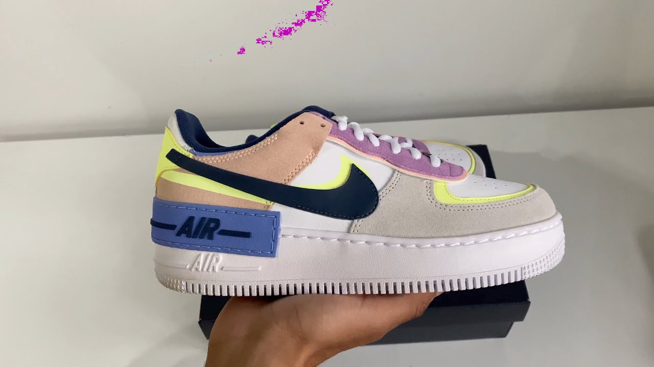Nike Air Force 1 Shadow Photon Dust Unboxing Youtube Slightly lifted midsole for a touch of height. nike air force 1 shadow photon dust unboxing