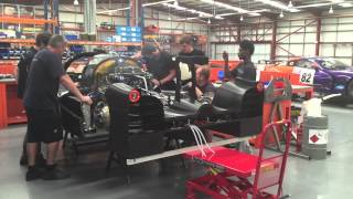 United Autosports LMP3 car start up